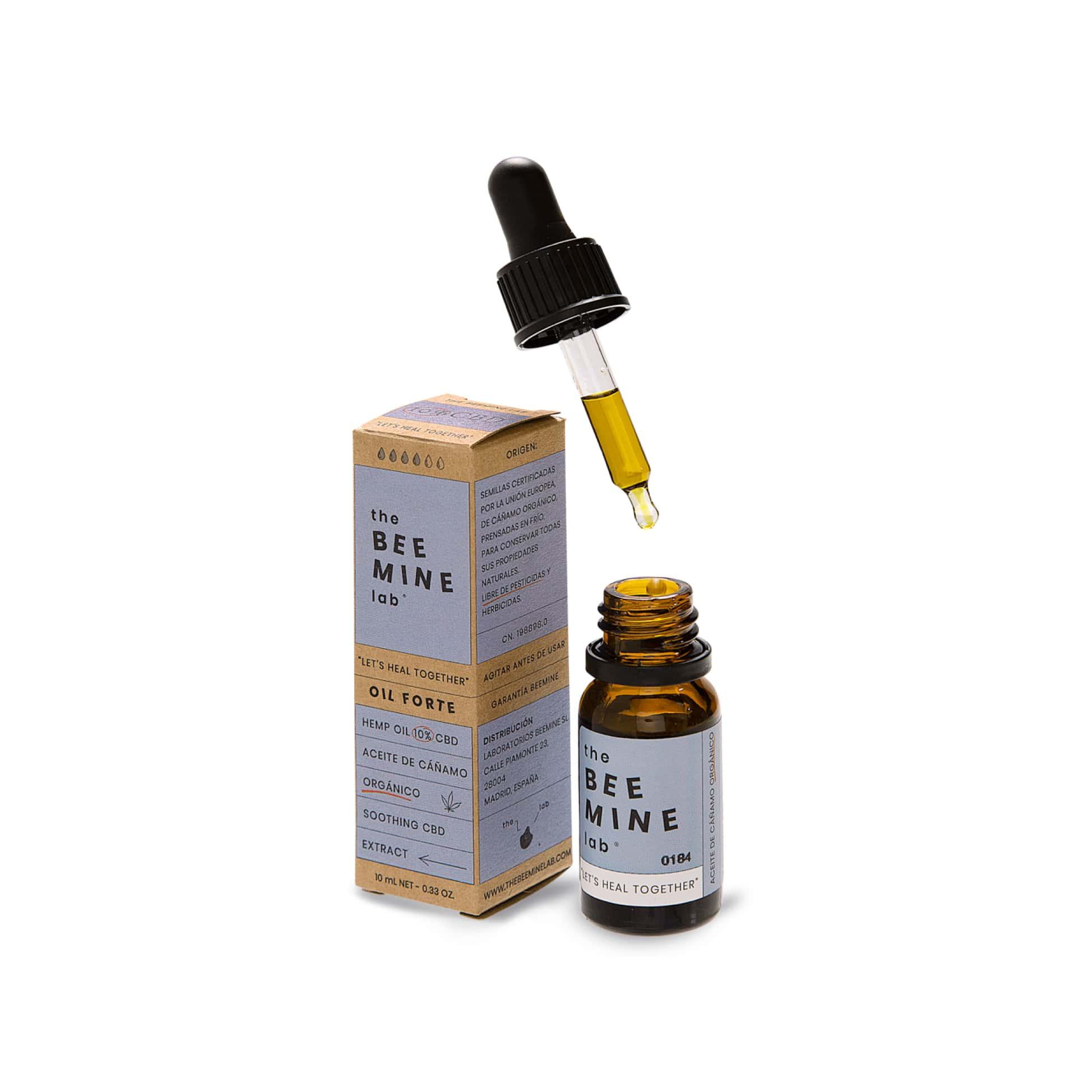 Aceite de CBD 10% forte CBD abierto-min