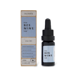 Aceite forte CBD frontal