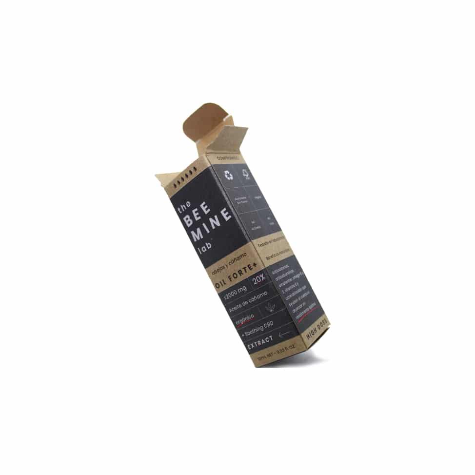 Caja del Aceite de CBD Forte+ 20%