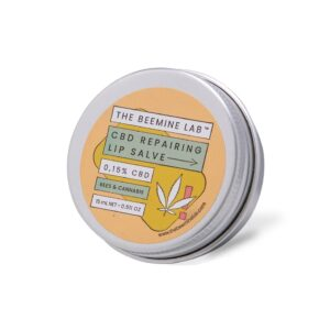 CBD Lip Balm with lemongrass