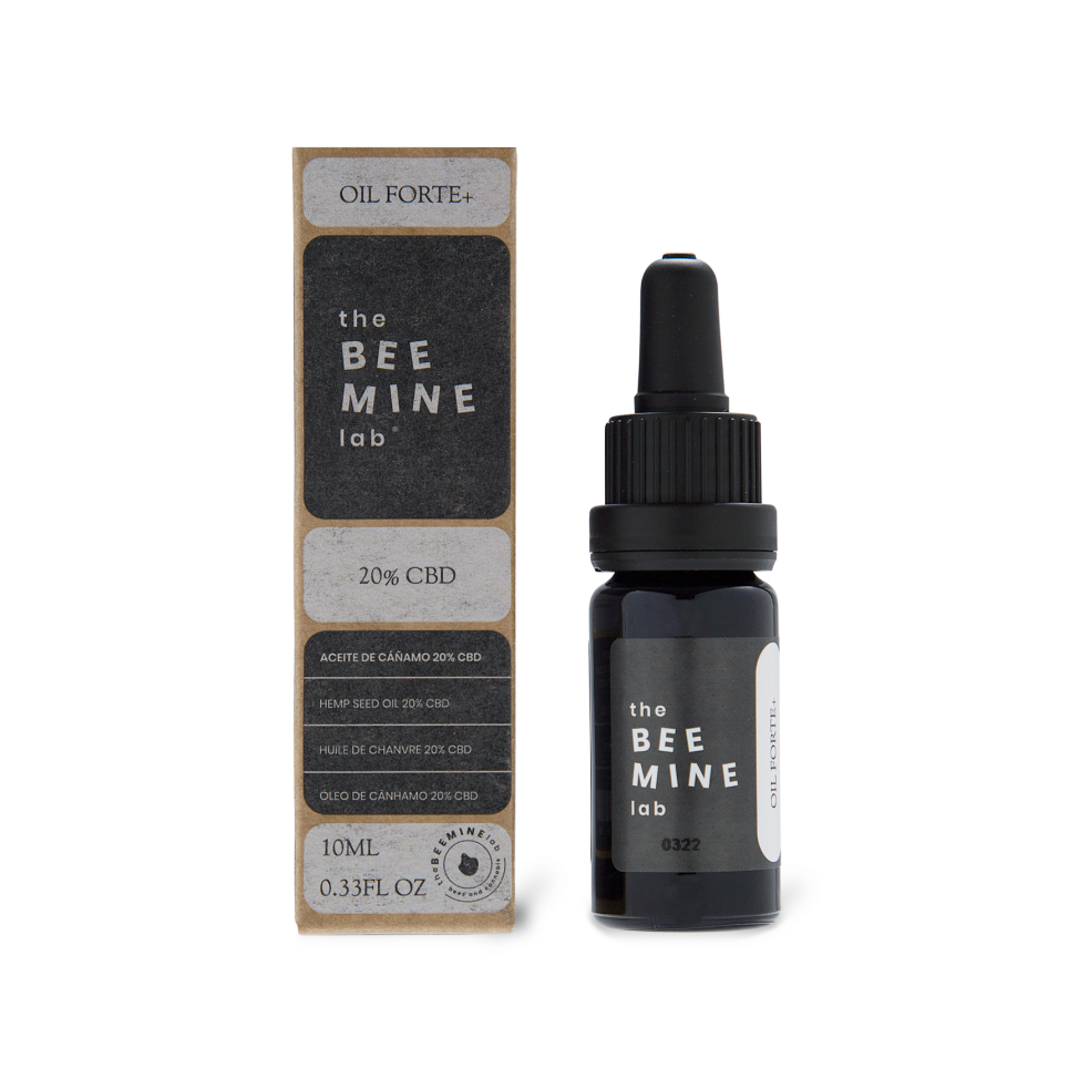 Aceite de CBD 20% Forte + CBD frontal