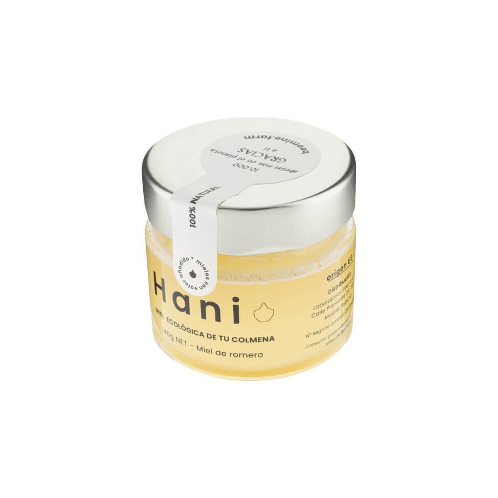 Miel orgánica romero ecológica madrid