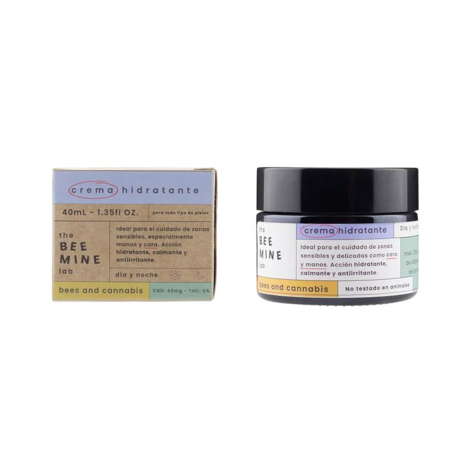 CBD hydrating facial cream