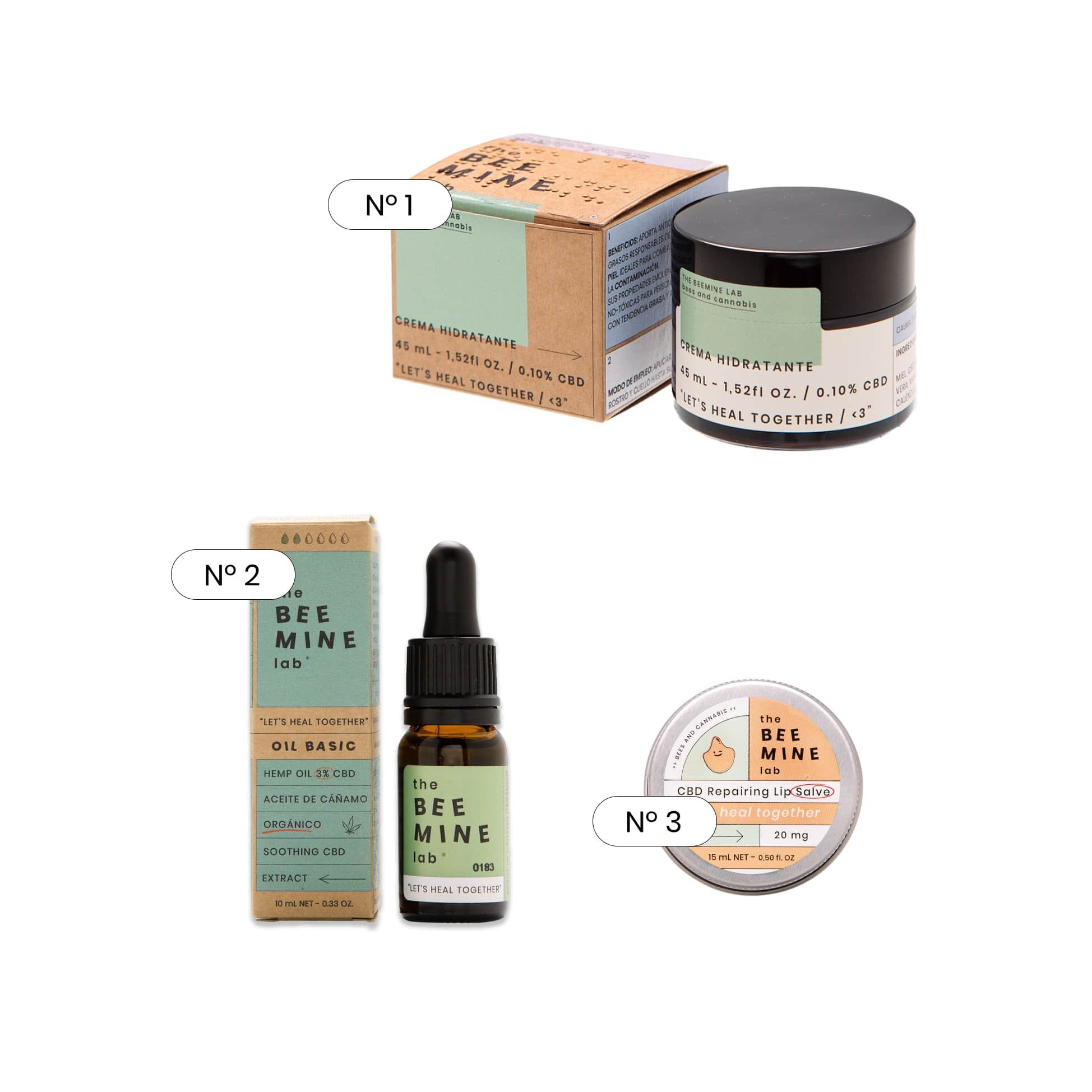 Pack skincare