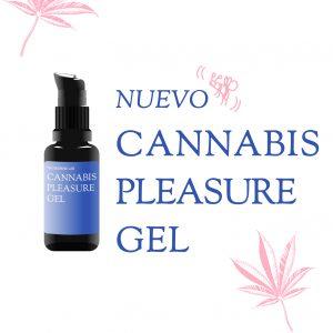 Imagen del Cannabis Pleasure Gel, gel íntimo con cannabis y propolis